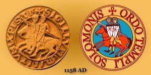 Templar-Seal-1158-AD-Horsemen-Illustration